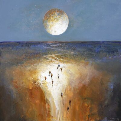 Mel Brigg, 'Moon Passage', 2017