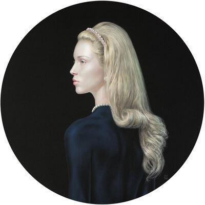 Salustiano, 'Zahara with silver dress', 2021