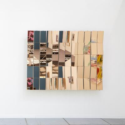 Gary Webb, 'Peach Mirror', 2018