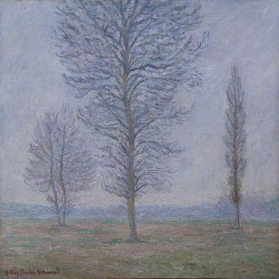 Blanche Hoschedé-Monet, 'Le pré aux trois arbres à Limetz', 1865-1947
