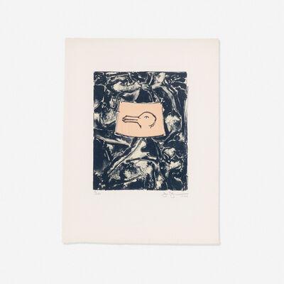 Jasper Johns, 'Untitled (from the Harvey Gantt Portfolio)', 1990