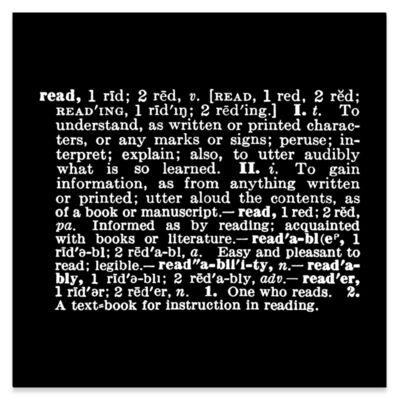 Joseph Kosuth, ''Titled [Art as Idea (as Idea]' [read] ', 1967