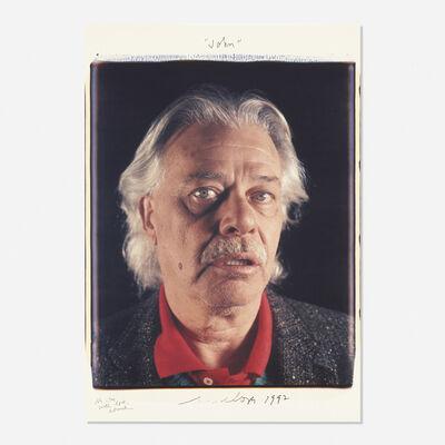 Chuck Close, 'John (John Chamberlain)', 1992