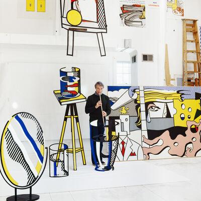 Horst P. Horst, 'Roy Lichtenstein, (Lichtenstein Studio Southampton), New York', 1977