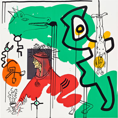 Keith Haring, 'Apocalypse (Plate 9)', 1988