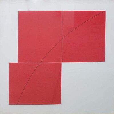 Robert Mangold (b.1937), 'A Red', 1979