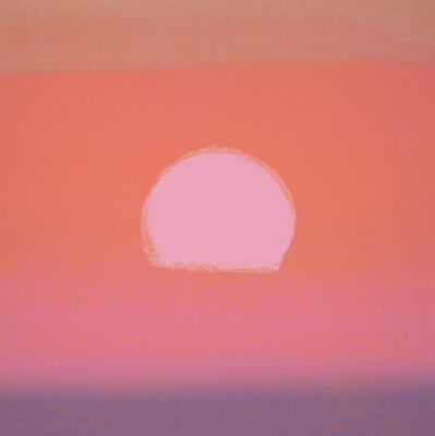 Andy Warhol, ' Sunset', 1972