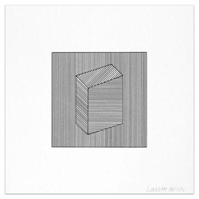 Sol LeWitt, 'Plate #22', 1984