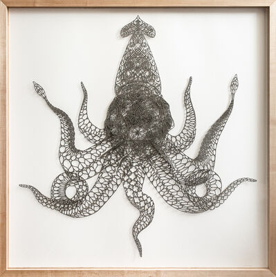 Hunter Stabler, 'Saint Vitus Architeuthis Manalishi with the Seven Tentacle Crown', ca. 2009