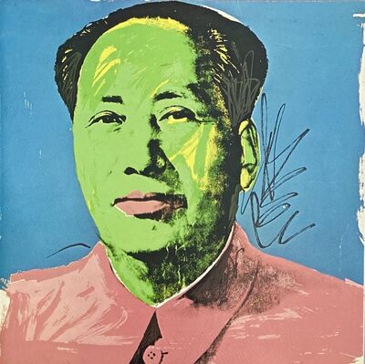 Andy Warhol, 'Warhol Mao (Leo Castelli announcement 1972) ', 1972