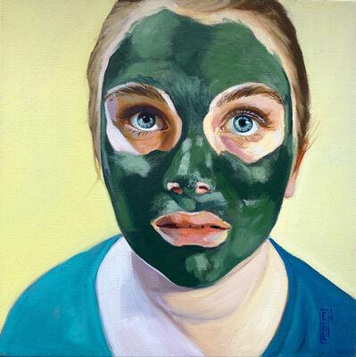 Ellen Starr Lyon, 'Algae Mask: Those Eyes', 2019