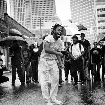 Sheila Pree Bright, '#1960Now: Atlanta, 2015 (Man Screaming)', 2015