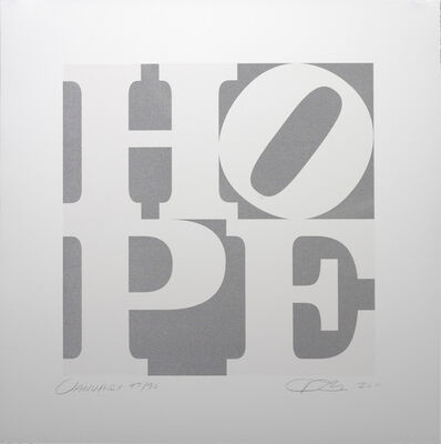 Robert Indiana, 'HOPE January', 2011