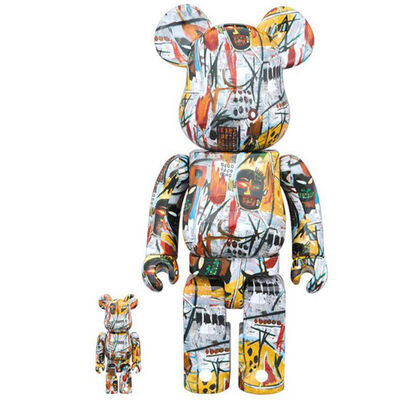 Jean-Michel Basquiat, '400% & 100% Bearbrick', 2017