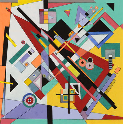 Rolph Scarlett, 'Abstraction', ca. 1945
