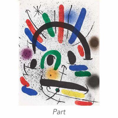 Joan Miró, 'Miró Lithographs I-IV (Mourlot 854; 857-867; 1036-1047; 1112-1117; 1255-1260; Cramer Books 160; 198; 230; 249)', 1972-81