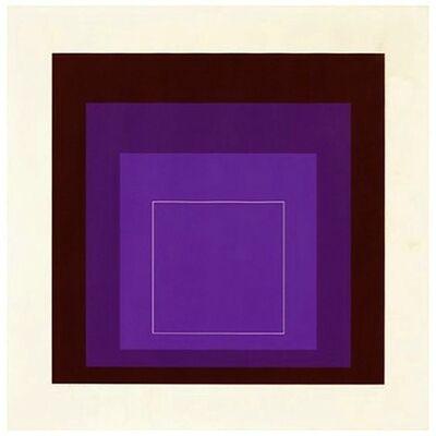 Josef Albers, 'White Line Squares (Series II), XI', 1966