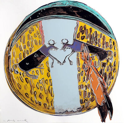 Andy Warhol, 'PLAINS INDIAN SHIELD (F. & S. II.382)', 1986