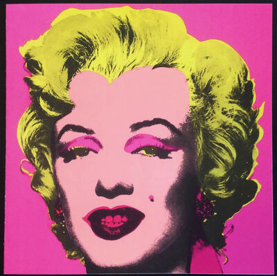 Andy Warhol, 'Warhol Marilyn (Castelli Invitation)', 1981