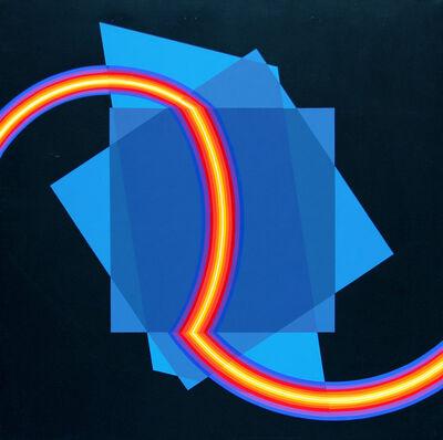 Horacio Garcia-Rossi, 'Couleur Electrique Lumière-Khaos programme', 2007