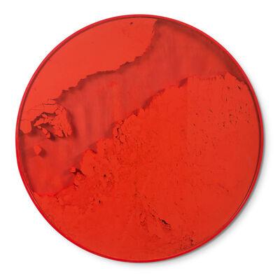 Manuel Merida, 'Cercle Rouge Vermillon', 2013