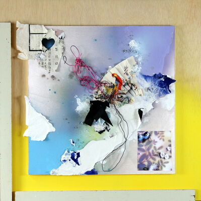 Henry Esparza, 'Blue Velvet Heart', 2017