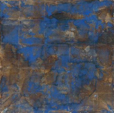 Makoto Fujimura, 'Azurite on Dark Silver', 2002