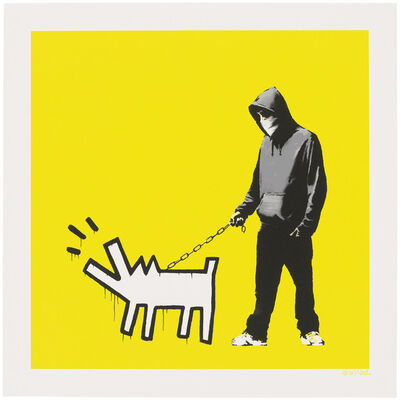 Banksy, 'Choose Your Weapon (Soft Yellow)', 2010