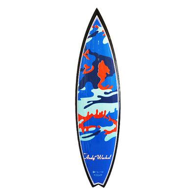 Andy Warhol, 'Camo Swallowtail Surfboard', 2015-2019