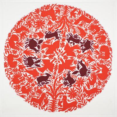 Rene Trevino, 'Tenango (Red)', 2014