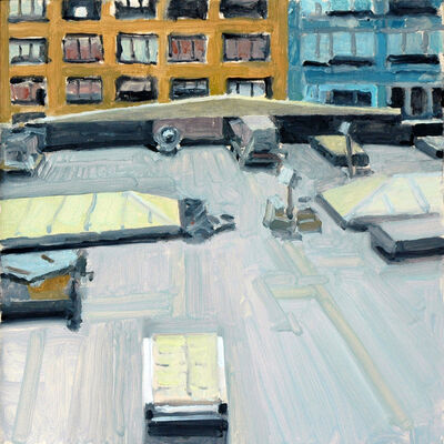 Richard Kirk Mills, 'Chelsea Rooftop', 2018
