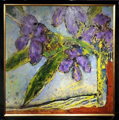 Helen Zarin, 'Fleurs - Purple', 2018