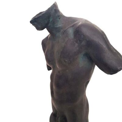 Igor Mitoraj, 'Male Bust', 1991