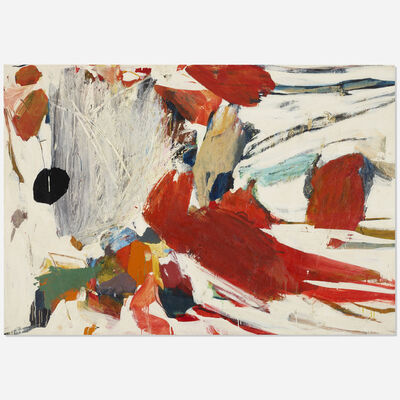 Robert S. Neuman, 'Parrot in the Snow', 1958