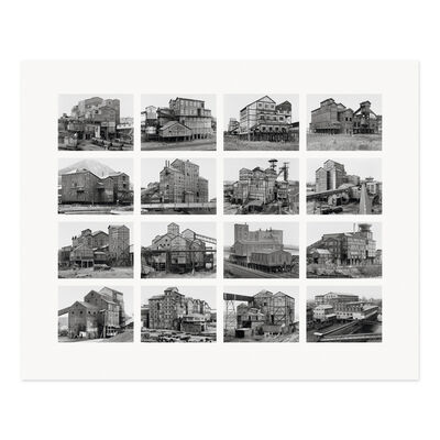 Bernd and Hilla Becher, 'Preparation Plants (Aufbereitungsanlagen)', 2009