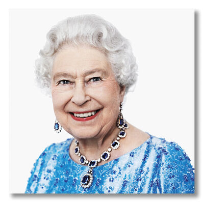 David Bailey, 'Her Majesty the Queen, 2014', 2021