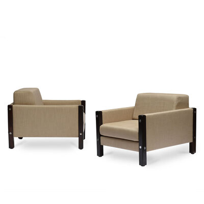Sergio Rodrigues, 'Pair of Millor armchairs, 1965', 1965