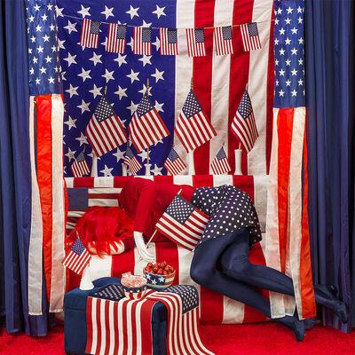 Patty Carroll, 'Flagged Down', 2020