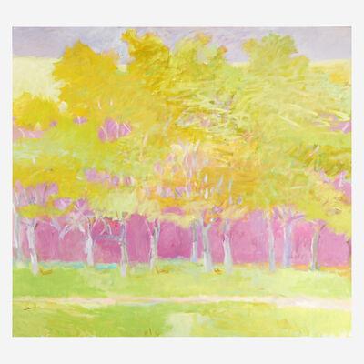Wolf Kahn, 'Overall Green', 1995
