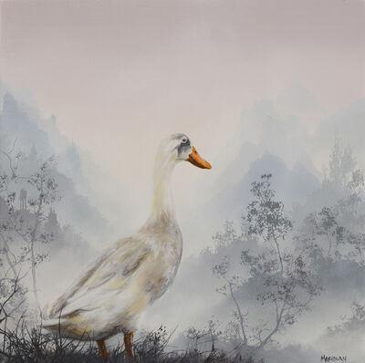 Brian Mashburn, 'White Duck', 2020