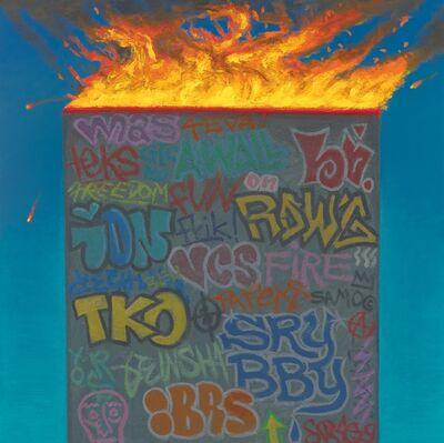 Vonn Cummings Sumner, 'Wall (on fire)', 2019