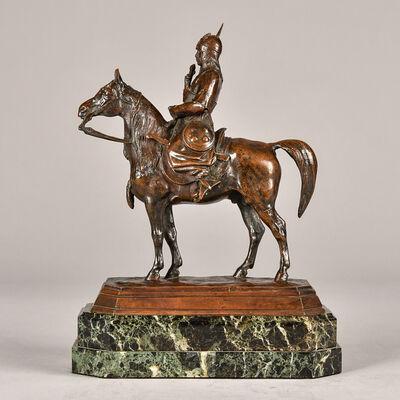 Antoine-Louis Barye, 'Caucasian Warrior', 1870