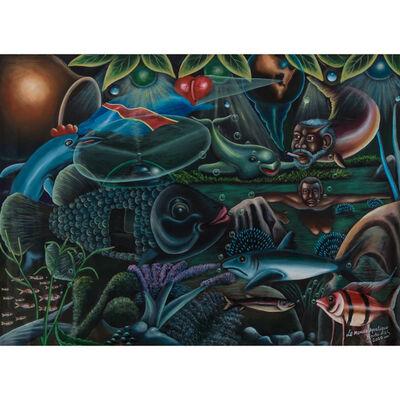 Bodo Fils, 'Le monde aquatique', 2010