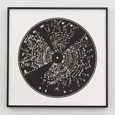 Terry Adkins, 'Untitled (Metal Music Box Disc Print)', 2001