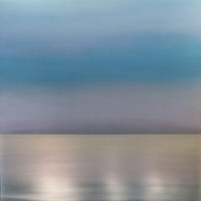 Miya Ando, 'Kasumi Mist Sky Blue Lavender', 2018