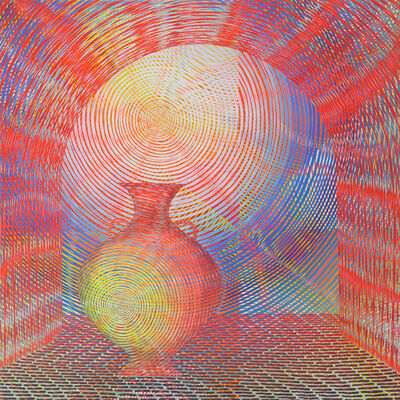 Andrew Schoultz, 'Glowing Vessel with Arch', 2020