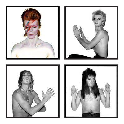Brian Duffy, 'David Bowie: Ziggy Stardust and the Spiders from Mars (Full Group)', 1972