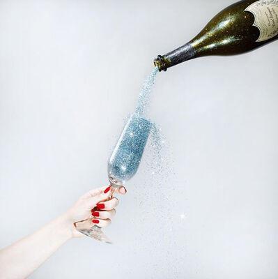 Tyler Shields, 'Glitter Champagne', 2019