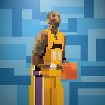 Adam Lister, 'Kobe', 2020