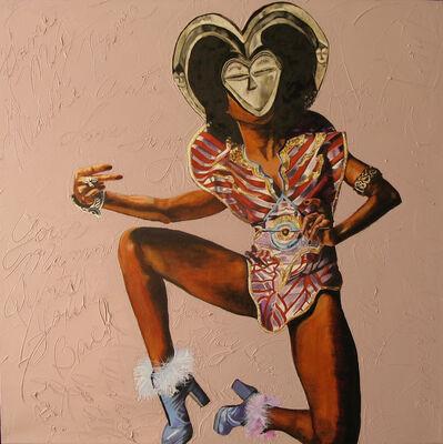 Margaret Rose Vendryes, 'Kwele Betty - Betty Davis', 2010